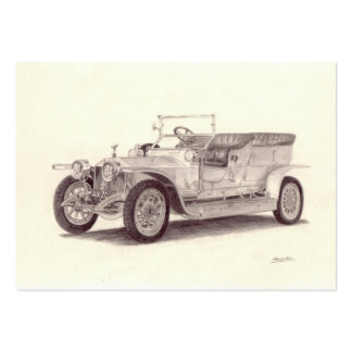 Vintage car: Rolls Royce silverspöke Visitkort