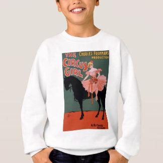 Vintage-Cirkus-Flicka-Affisch Tee Shirts
