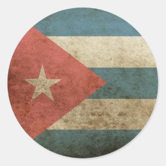 Vintage Cuba Sticker