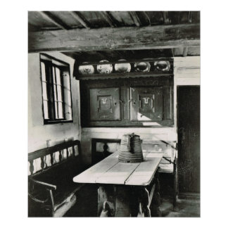 Vintage Danmark Friland museum Posters
