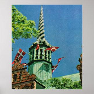 Vintage Danmark, Köpenhamnlagrarutbyte, Poster