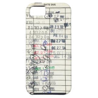 Vintage daterar rakt det förfallna iPhone 5 Case-Mate cases