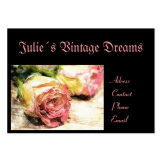Vintage drömm visitkorten