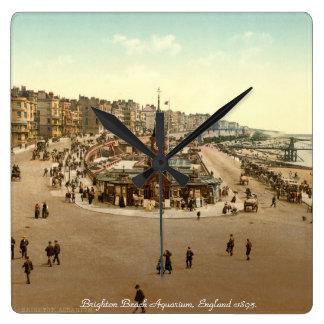 Vintage England tar tid på, det Brighton Fyrkantig Klocka