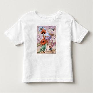 Vintage - fen i innegrej poserar, tee shirts