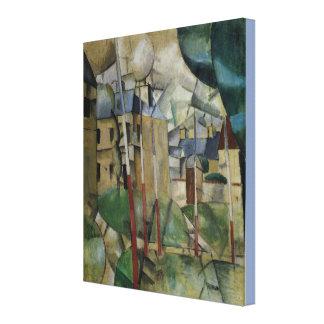 Vintage Fernand Leger landskap Canvastryck