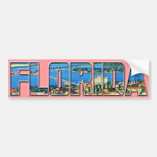 Vintage Florida Bildekal
