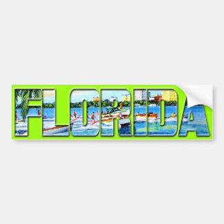 Vintage Florida Bildekaler