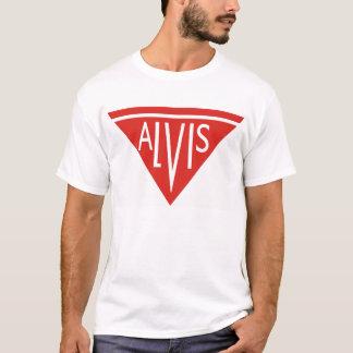 Vintage för Alvis bilklassiker som fotvandrar T-shirts