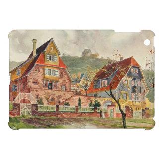 Vintage för arkitektur för Metzendorf vattenfärg t iPad Mini Fodral
