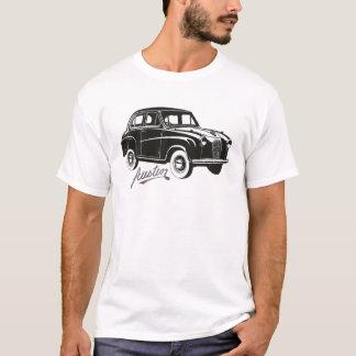 Vintage för Austin A30 bilklassiker som fotvandrar Tshirts