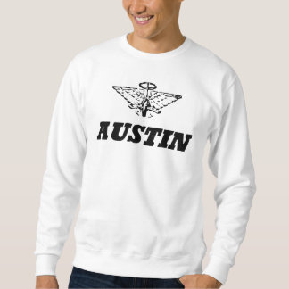 Vintage för Austin bilklassiker som fotvandrar Lång Ärmad Tröja