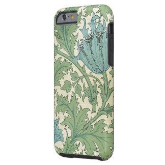 Vintage för blommigt för design för William Morris Tough iPhone 6 Fodral