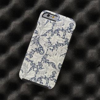 Vintage för blommigt för William Morris Tough iPhone 6 Skal
