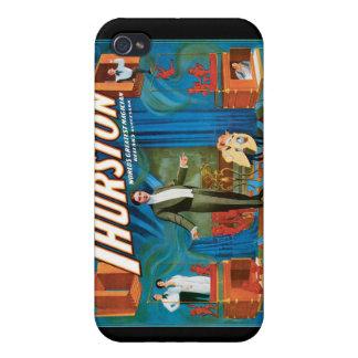 Vintage för ~ för den Thurston iPhone 4 Fodral