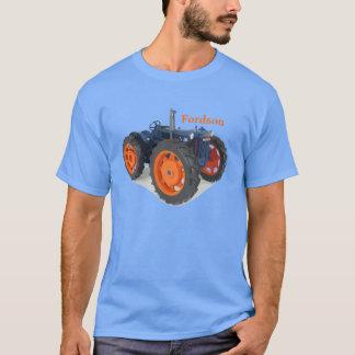 Vintage för Fordson traktorklassiker som T Shirts