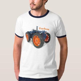 Vintage för Fordson traktorklassiker som Tee Shirts