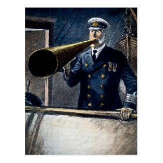 Vintage för RMS för kaptenEdward smed Titanic Vykort