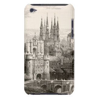 Vintage för Spire för Burgos domkyrkaSpanien slott iPod Touch Skydd