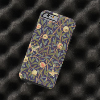 Vintage för William Morris fågel- och Tough iPhone 6 Case