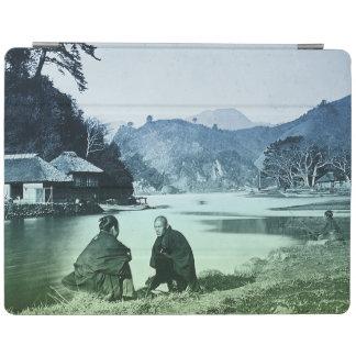 Vintage fotograferar:  Sällsynt japansk by iPad Skydd
