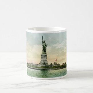 "Vintage""frihetsgudinnan"" affisch. New York. Kaffemugg"