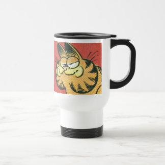 Vintage Garfield, travel mug Rostfritt Stål Resemugg
