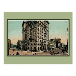 Vintage Genesee och Salinagator Syracuse NY Vykort