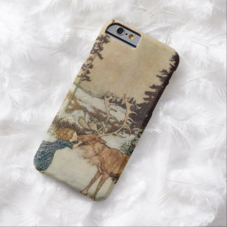 Vintage Gerda och renen av Edmund Dulac Barely There iPhone 6 Fodral