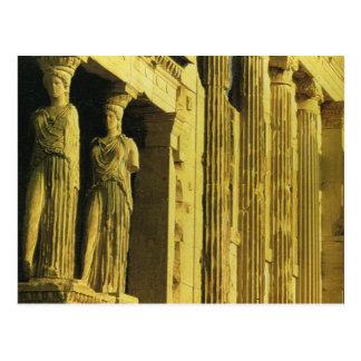 Vintage Grekland, Athens, Acropolis, Parthenon Vykort