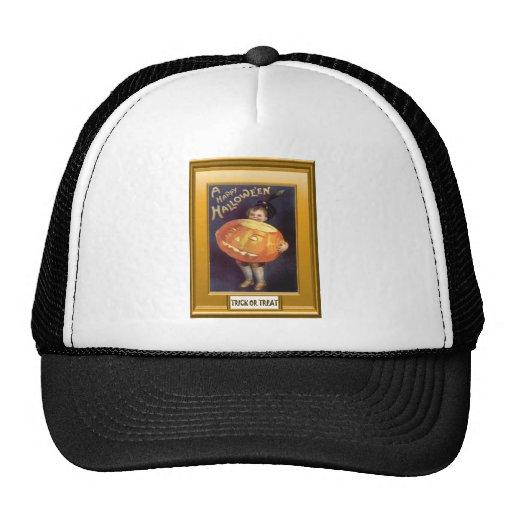 Vintage Halloween Baseball Hat