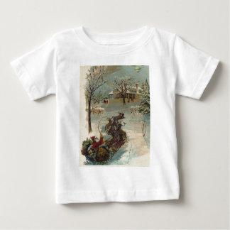 Vintage här kommer jultomten t shirts