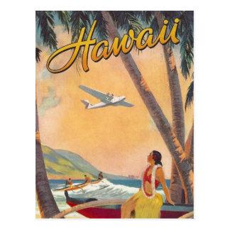 Vintage Hawaii reser Vykort