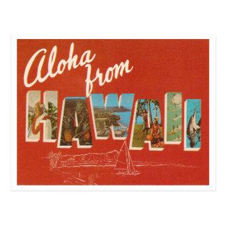 Vintage Hawaii Vykort