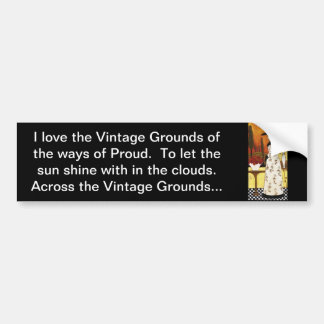 Vintage jordniner bildekalet bildekaler
