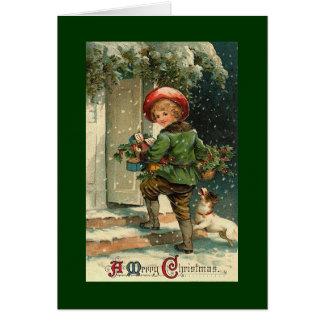 Vintage jul kort