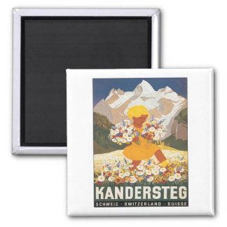 Vintage Kandersteg Schweitz Magnet