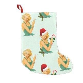vintage klämmer fast upp att lagerföra för small christmas stocking