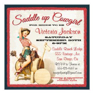 Vintage klämmer fast upp Rockabilly Cowgirlmöhippa