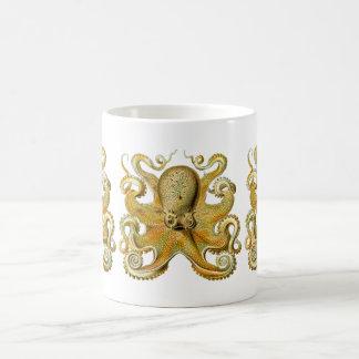 Vintage Kraken, bläckfisk Gamochonia, Ernst Kaffemugg