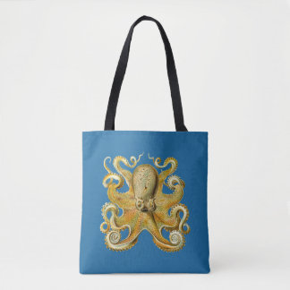 Vintage Kraken, bläckfisk Gamochonia, Ernst Tygkasse