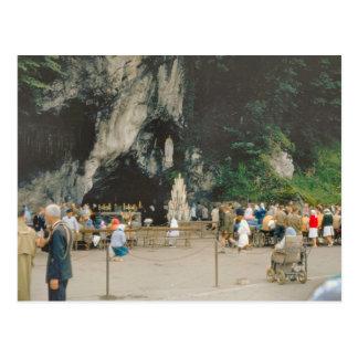 Vintage Lourdes, GROTTE DE MARSEBEILLES Vykort