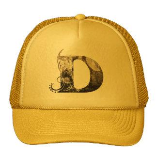 Vintage märker D - hatt Mesh Kepsar