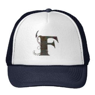 Vintage märker F - hatt Keps