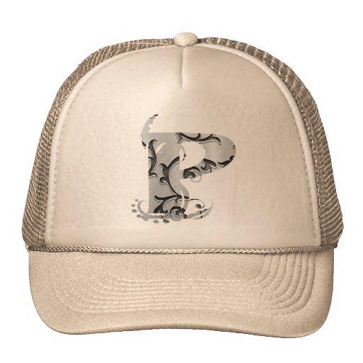 Vintage märker P - hatt Keps