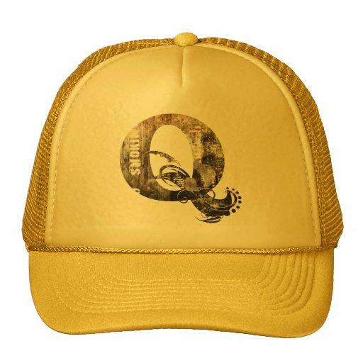 Vintage märker Q - hatt Trucker Kepsar
