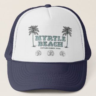 Vintage Myrtle Beach South Carolina Est 1938 Truckerkeps