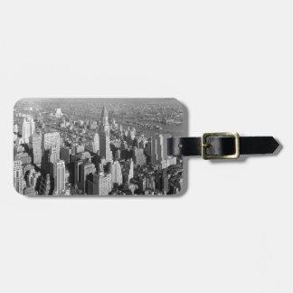 Vintage New York City Bagagebricka