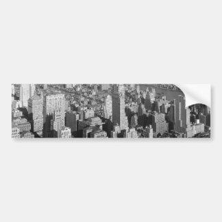 Vintage New York City Bildekaler