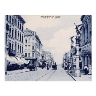 Vintage Ostend 1895 Vykort